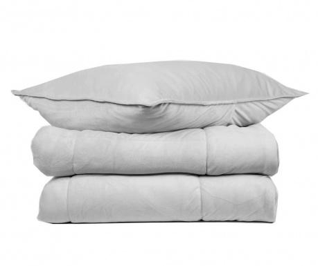 Zestaw na łóżko King Extra Tasos  Grey