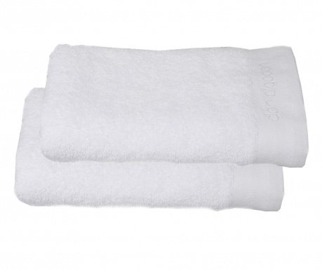 Σετ 2 πετσέτες μπάνιου Tocador White 30x50 cm