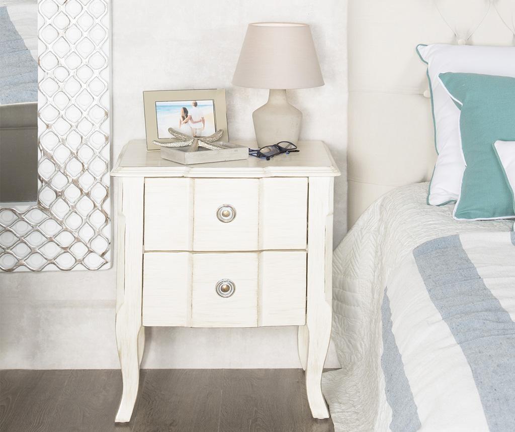 Nočna omarica Elysee Blanco