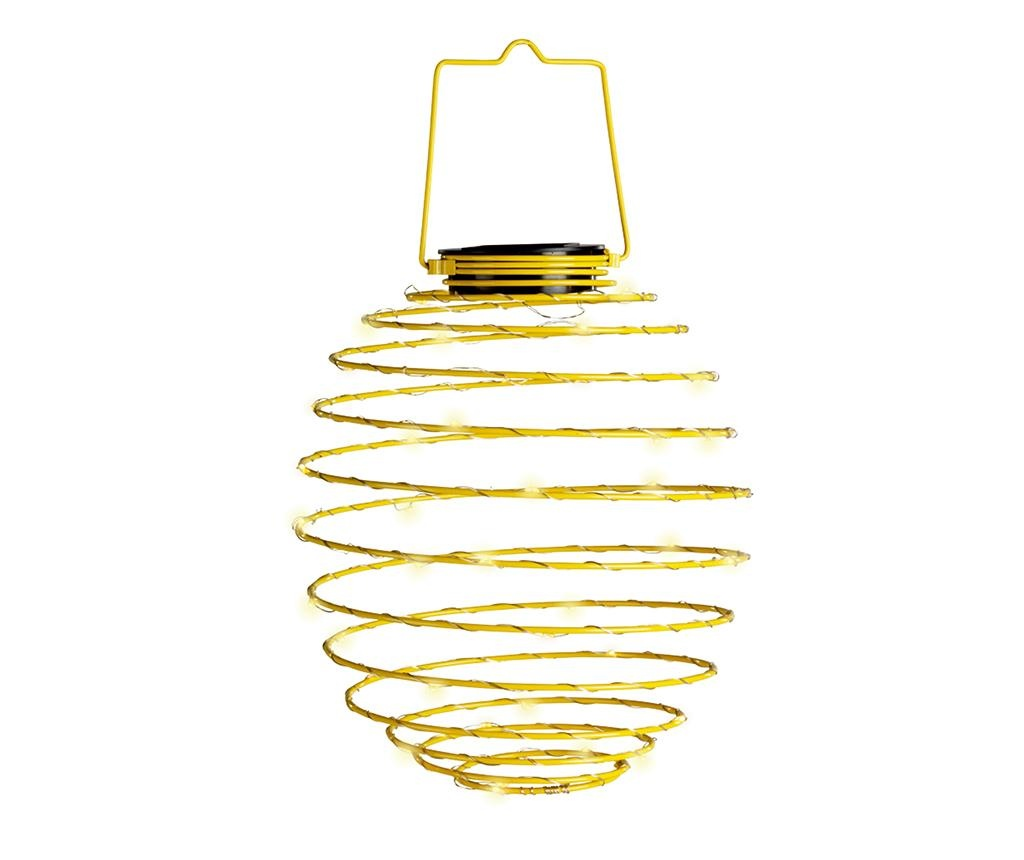 Solarna svetilka Spiral Yellow