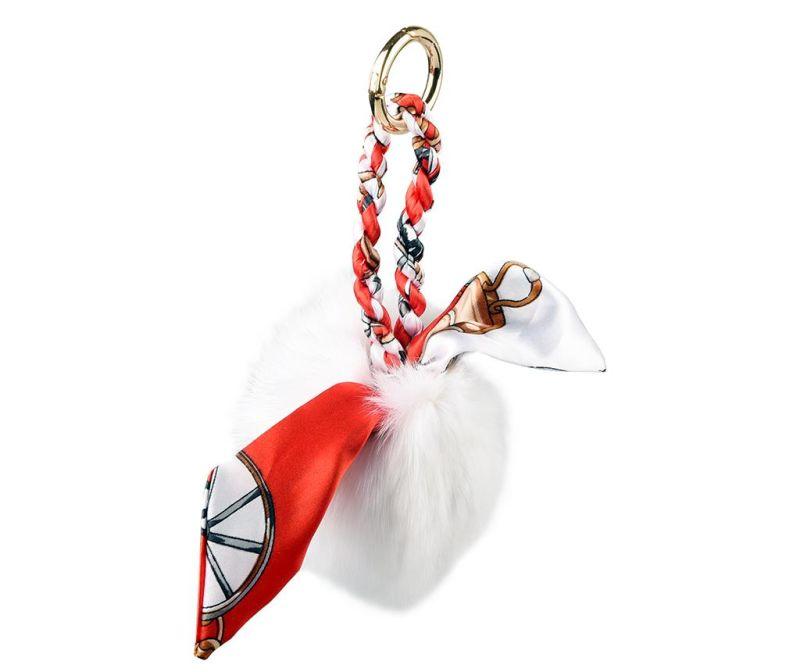 Accesoriu pentru geanta Wallis White