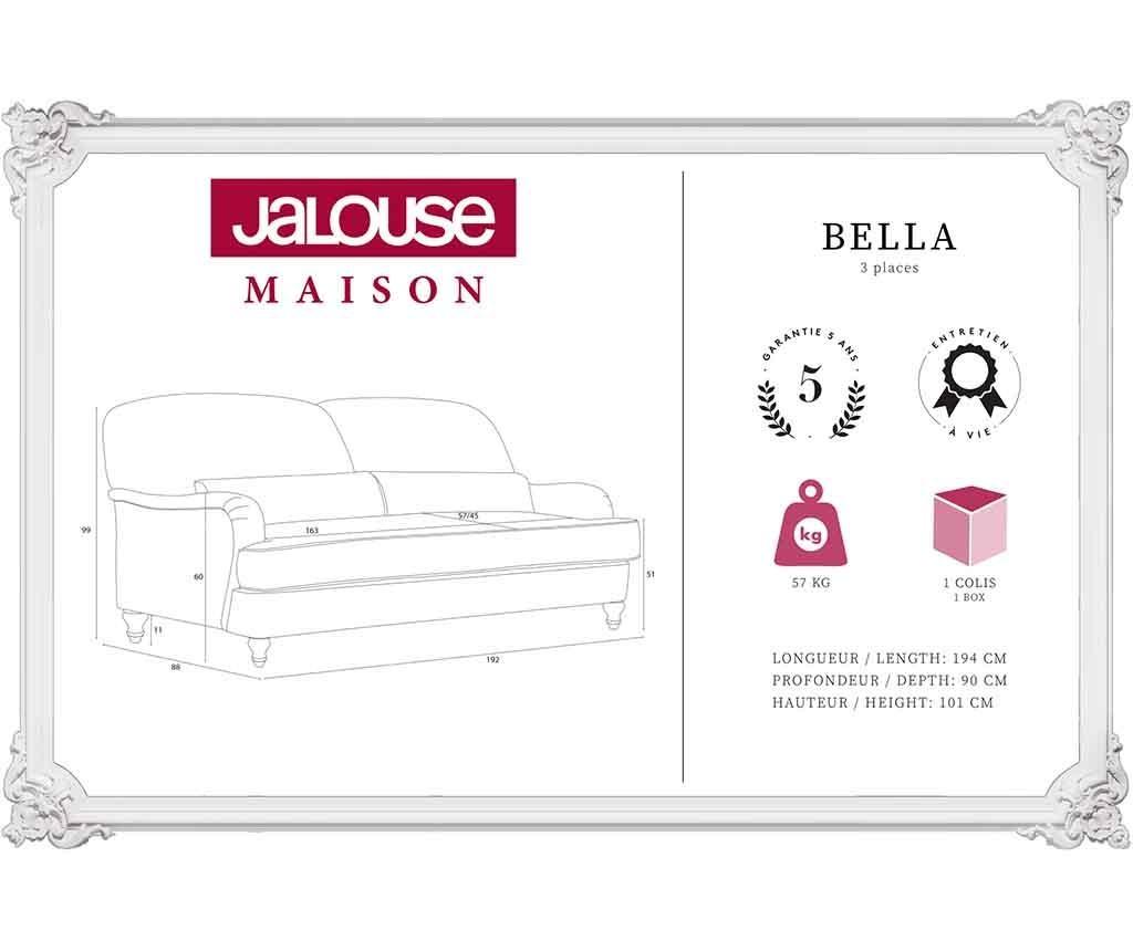 Bella Lagoon Háromszemélyes kanapé