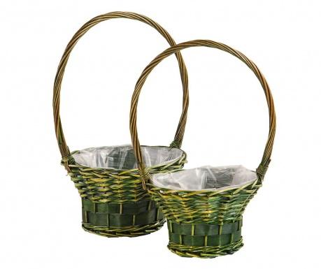 Nature Baskets 2 db Virágcserép
