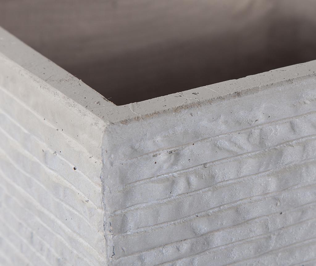 Set 3 držača za posude za cvijeće Concrete Wall