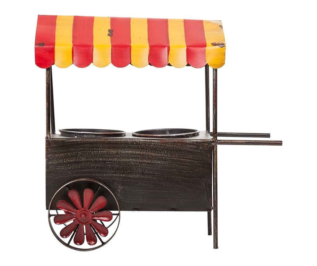 Stojan na květináče Vintage Cart Two