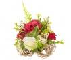 Decoratiune Roses White Red