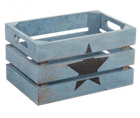 Star Black Blue Tárolóláda
