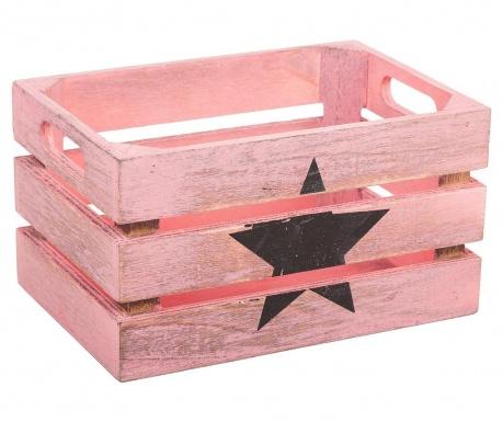 Star Black Pink Tárolóláda