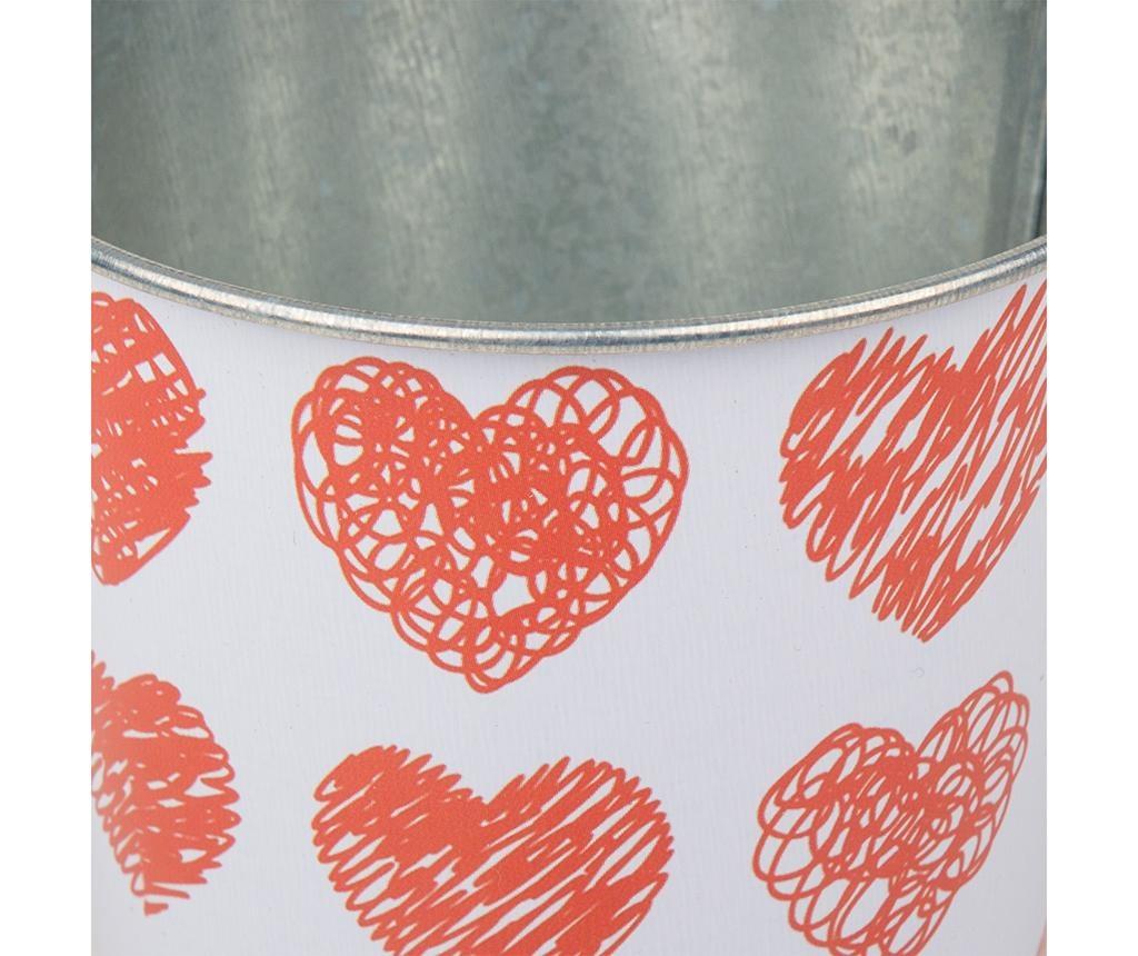 Květináč Hearts Doodle