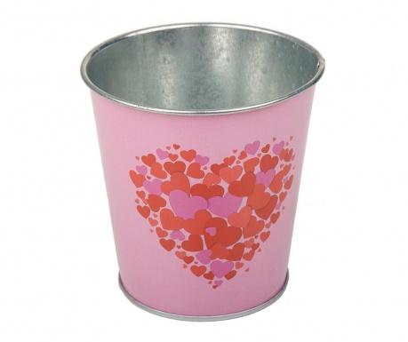 Hearts Pink Red Virágcserép tartó