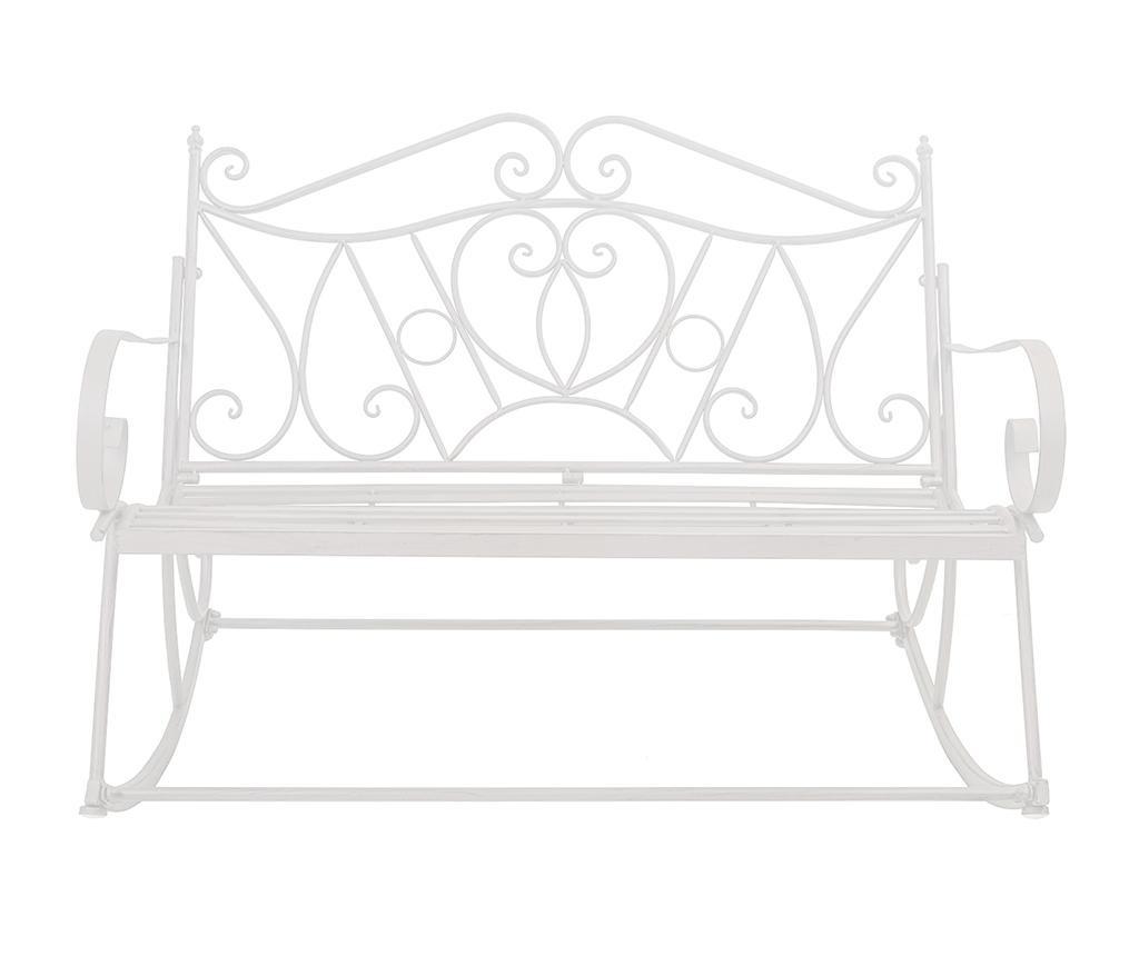 Ogrodowe krzesło na biegunach Alice White