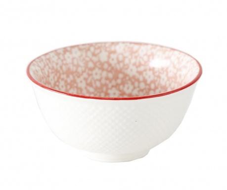 Fleuri Pink Mély tál 350 ml