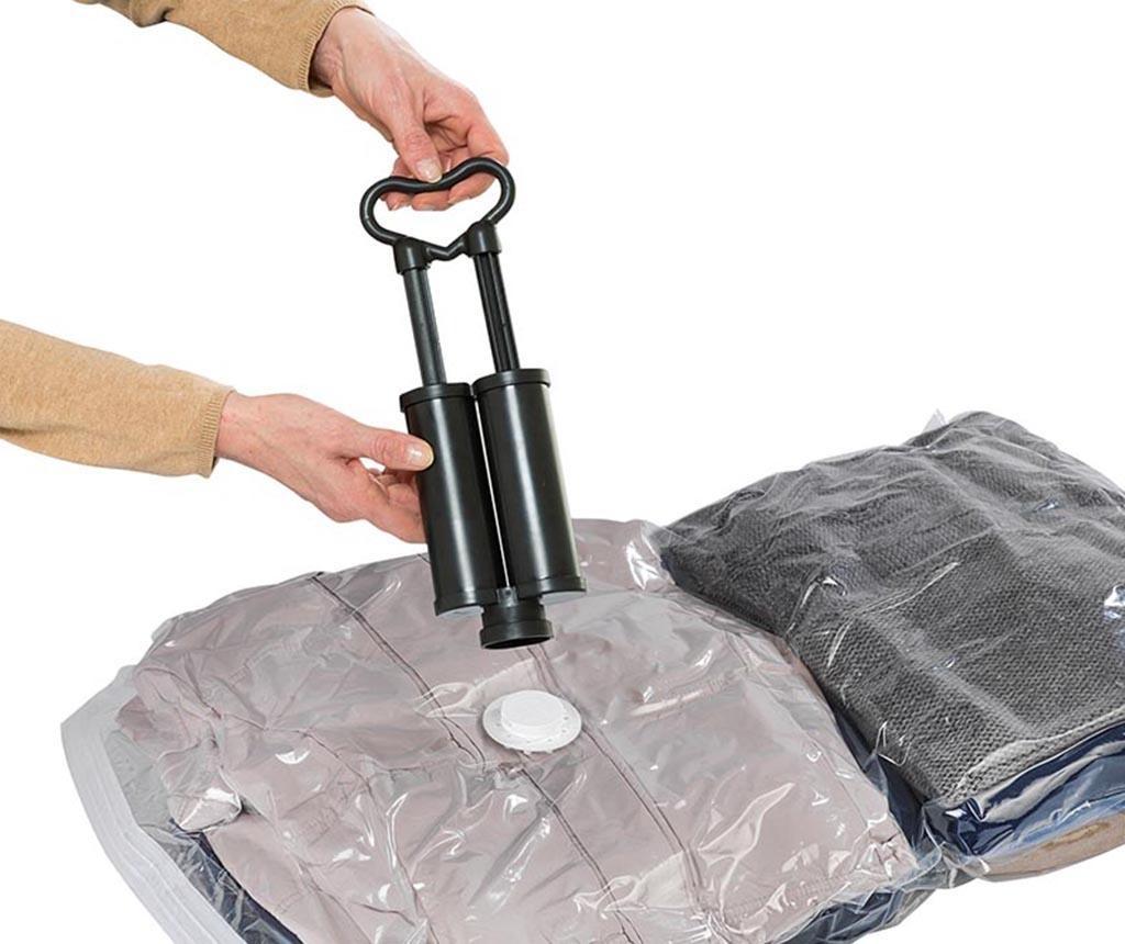 Set 5 vreća za vakumiranje i pumpa Bags Travel