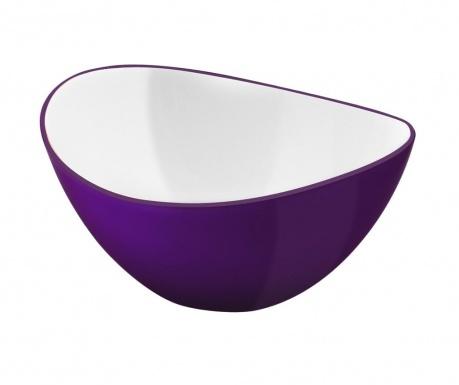 Livio Ellipse Violet Mély tál 400 ml