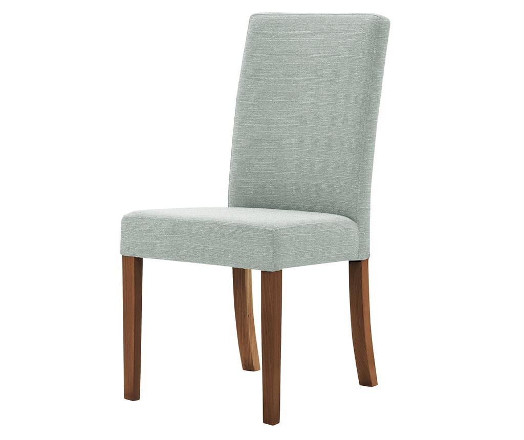 Set 4 scaune Tonka Brown & Mint