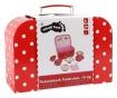 Set accesorii de bucatarie de jucarie si cutie cu capac Jots