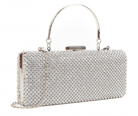 Lucinda Argento Clutch táska