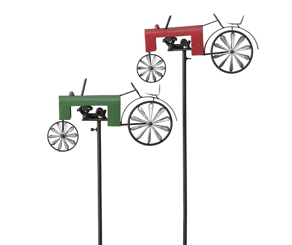 Градинска декорация Tractor Green