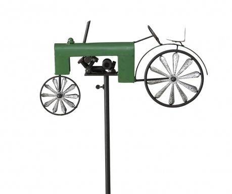 Dekoracja ogrodowa Tractor Green