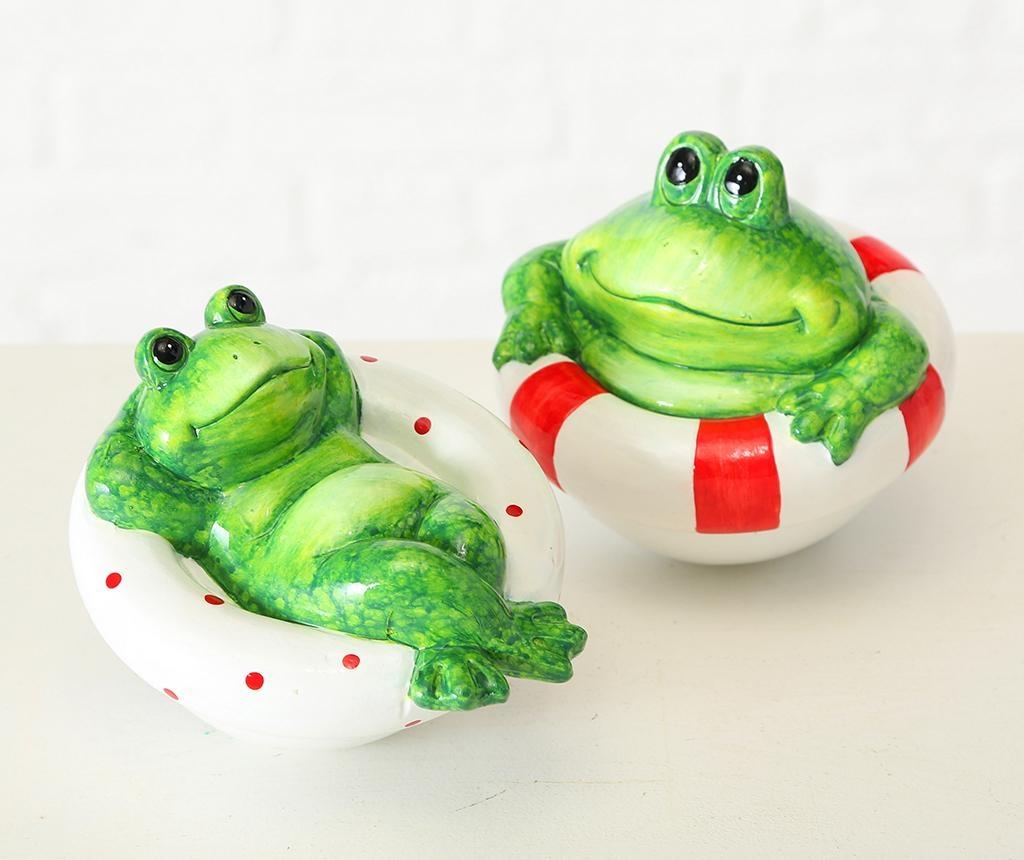 Decoratiune Frog Stripes