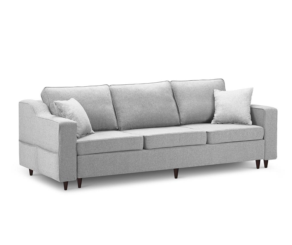 Kauč trosjed na razvlačenje Narcisse Grey