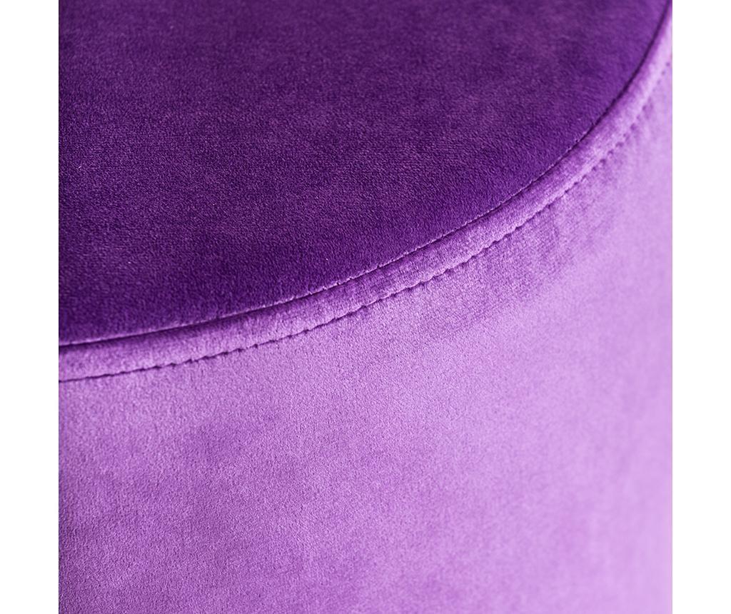 Taburet Retro Violet