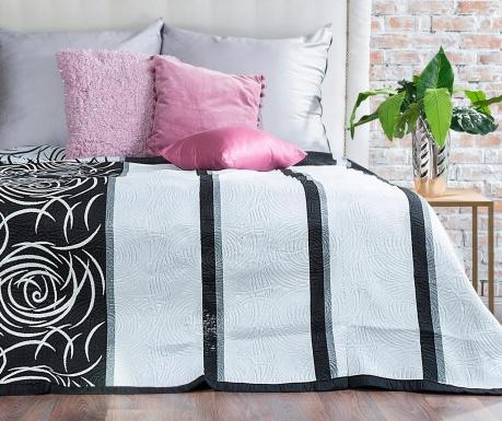 Sue Black Lines Steppelt ágytakaró 170x210 cm