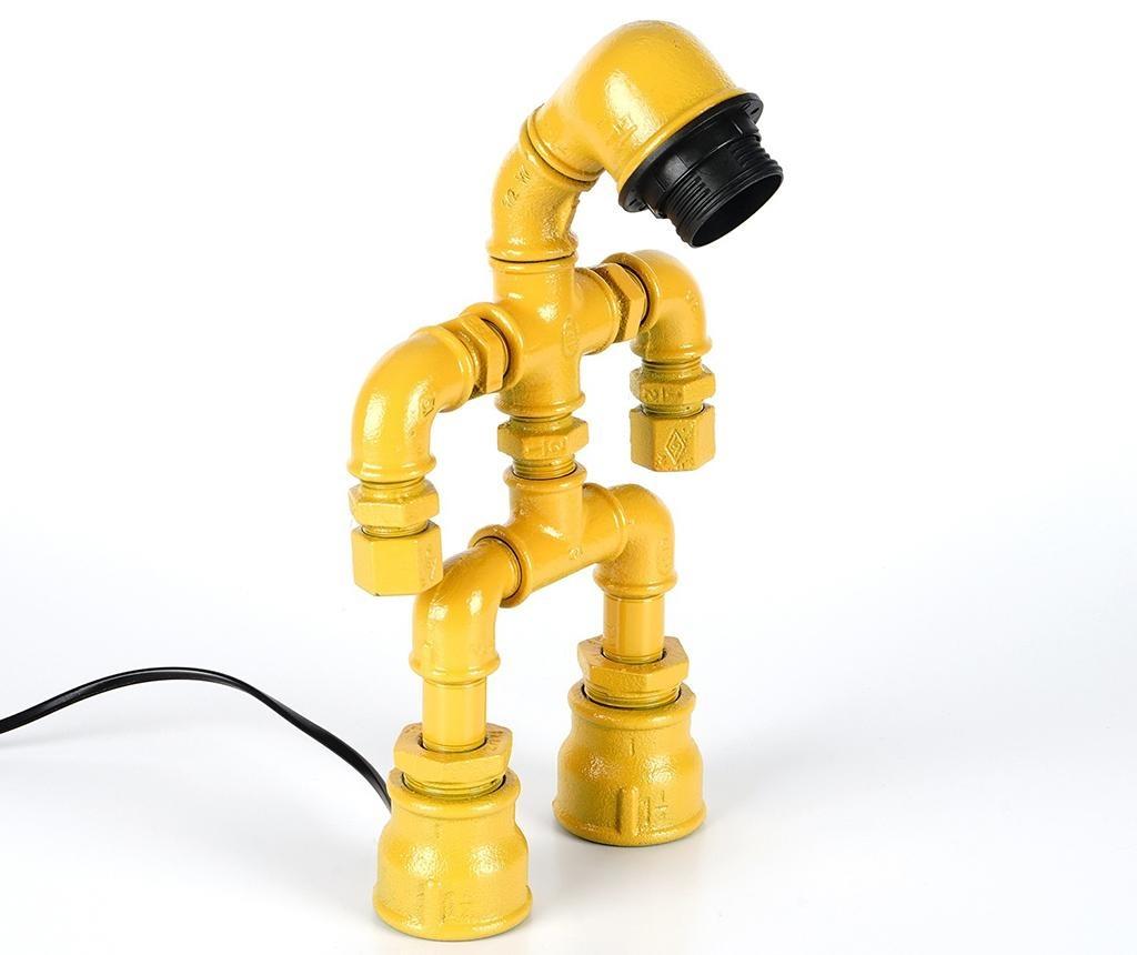 Veioza Pipe Stand Yellow