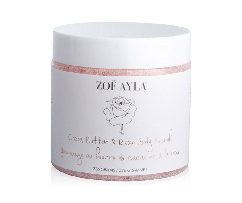 Piling gel za tijelo Cocoa Butter & Rose Body