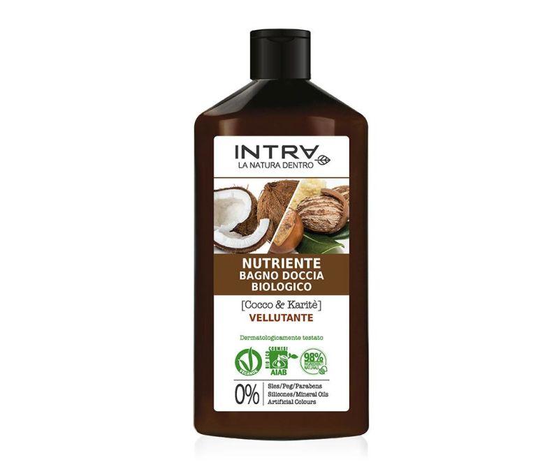 Organski gel za tuširanje Velvety Coconut&Shea 400 ml