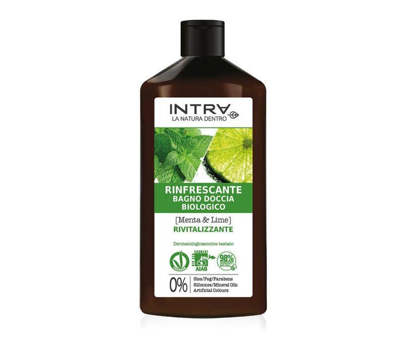 Organski gel za tuširanje Revitalizing Mint&Lime 400 ml