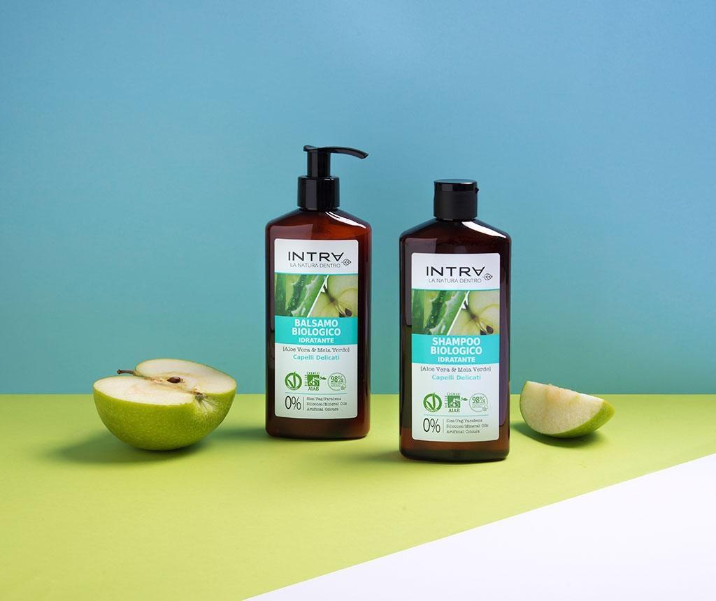 Organski hidratantni šampon Delicate Aloe&Apple 250 ml