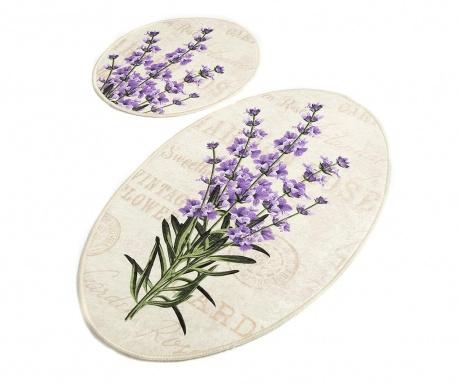 Sada 2 kúpeľňových predložiek Lavender DJT