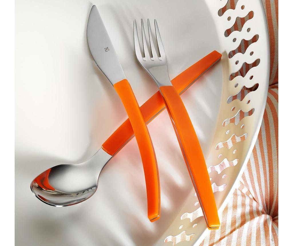 Sada příborů, 30 dílů Colors Orange