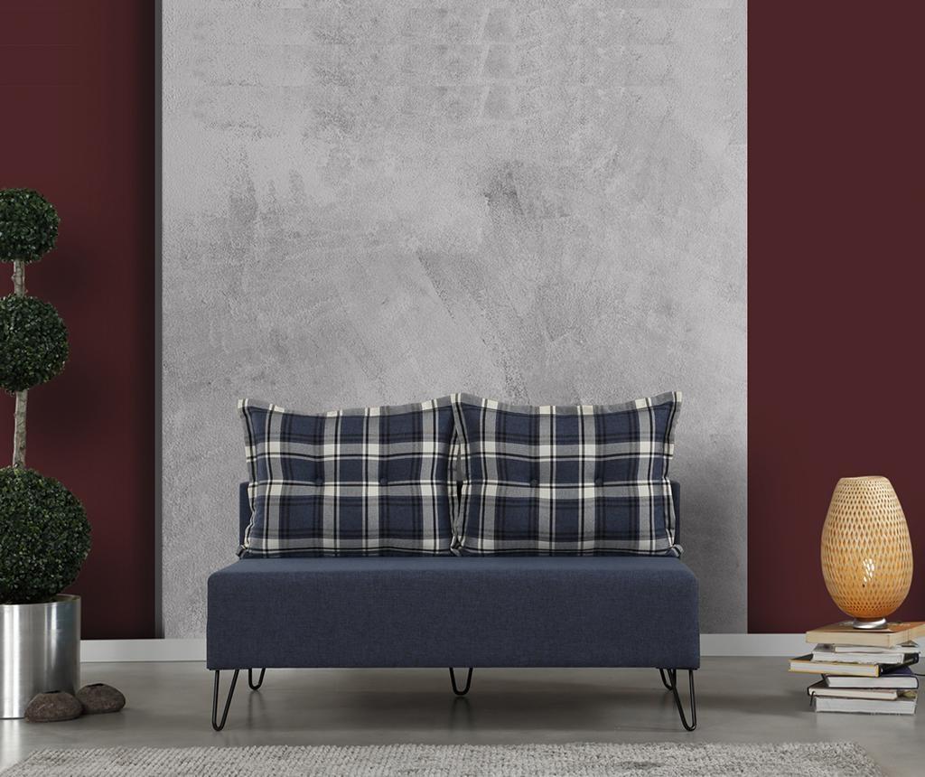 Roha Ciftly Dark Blue Kétszemélyes kanapé