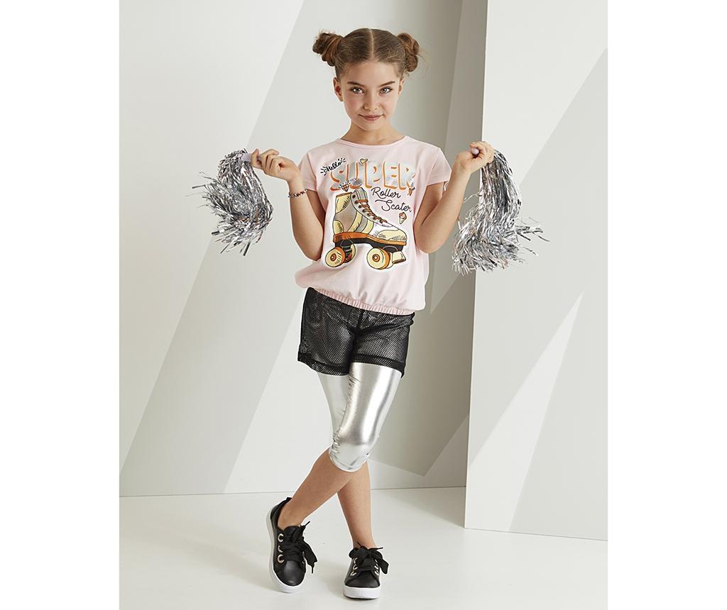 Set tricou si colanti copii Roller Skate 5 ani