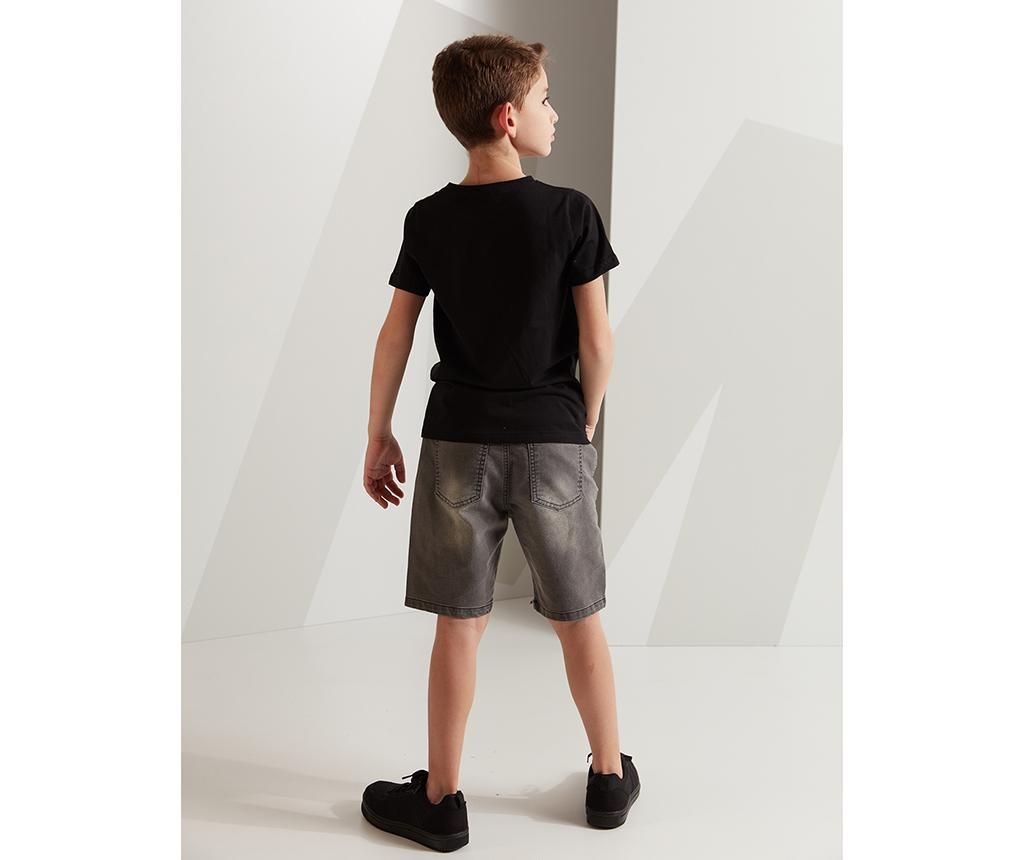 Set tricou si pantaloni scurti copii Rock 7 ani