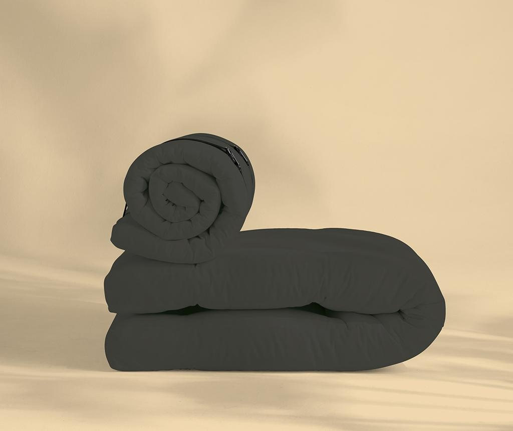 Rozkładany fotel zewnętrzny Buckle Up Out Dark Grey 70x200 cm
