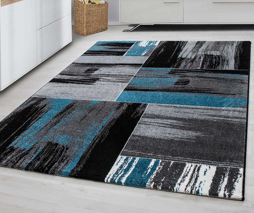 Koberec Lima Abstract Turquoise 120x170 cm
