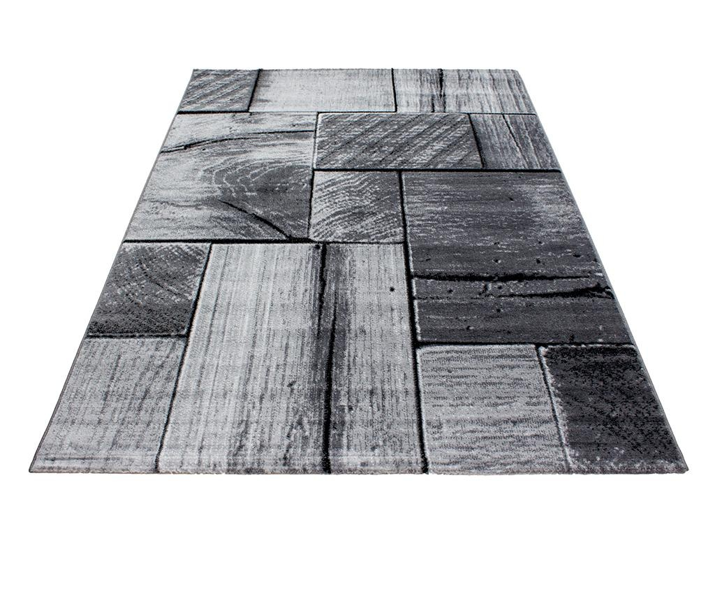Preproga Parma Wood Black 80x150 cm