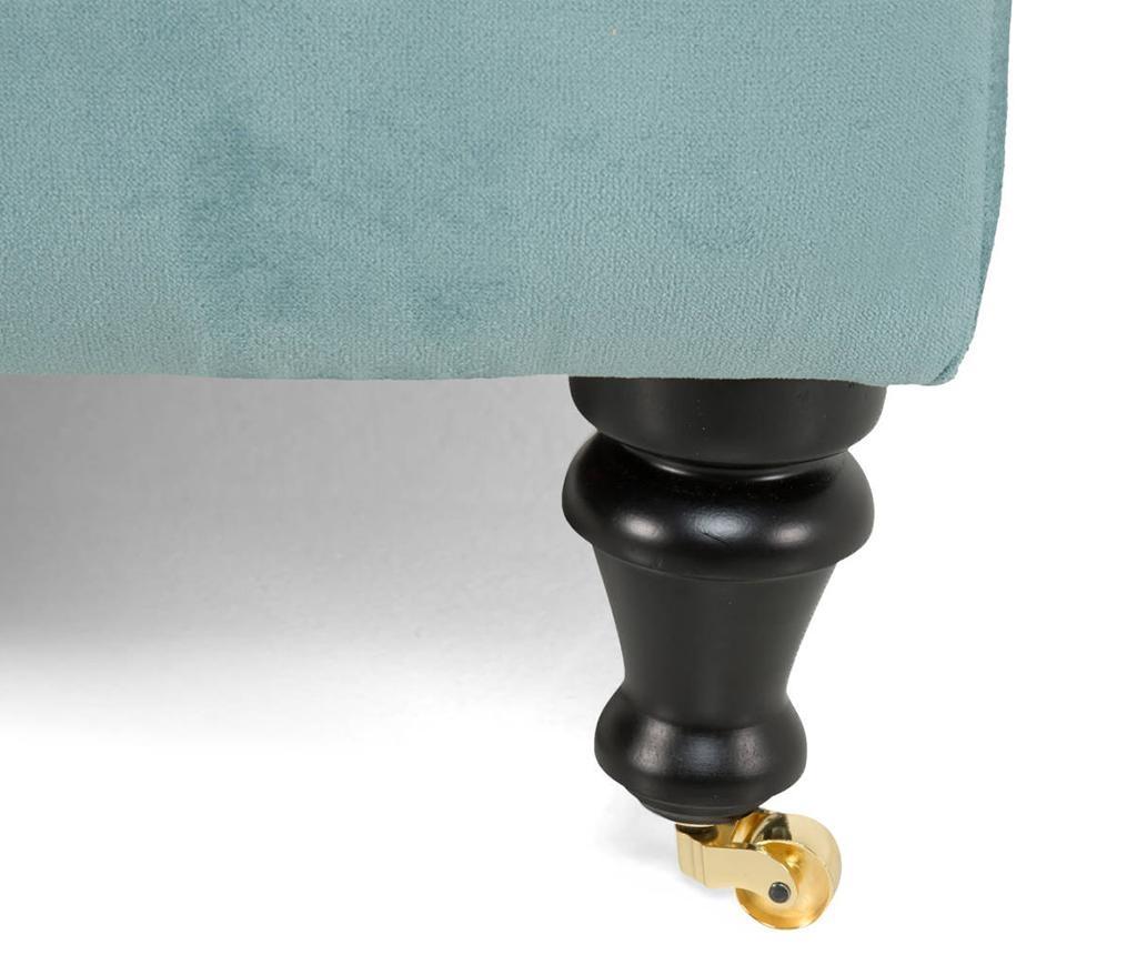 Desna ležaljka za dnevni boravak diYana Turquoise