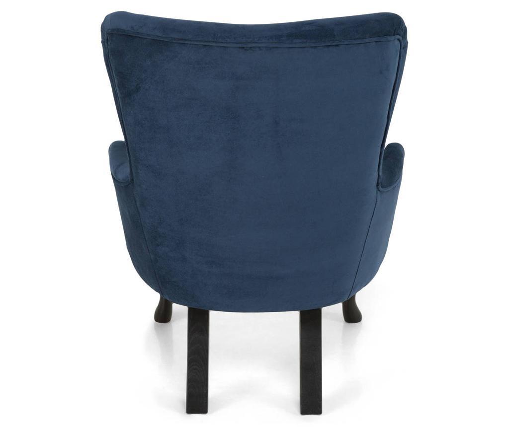 Emilia  Long Dark Blue Fotel