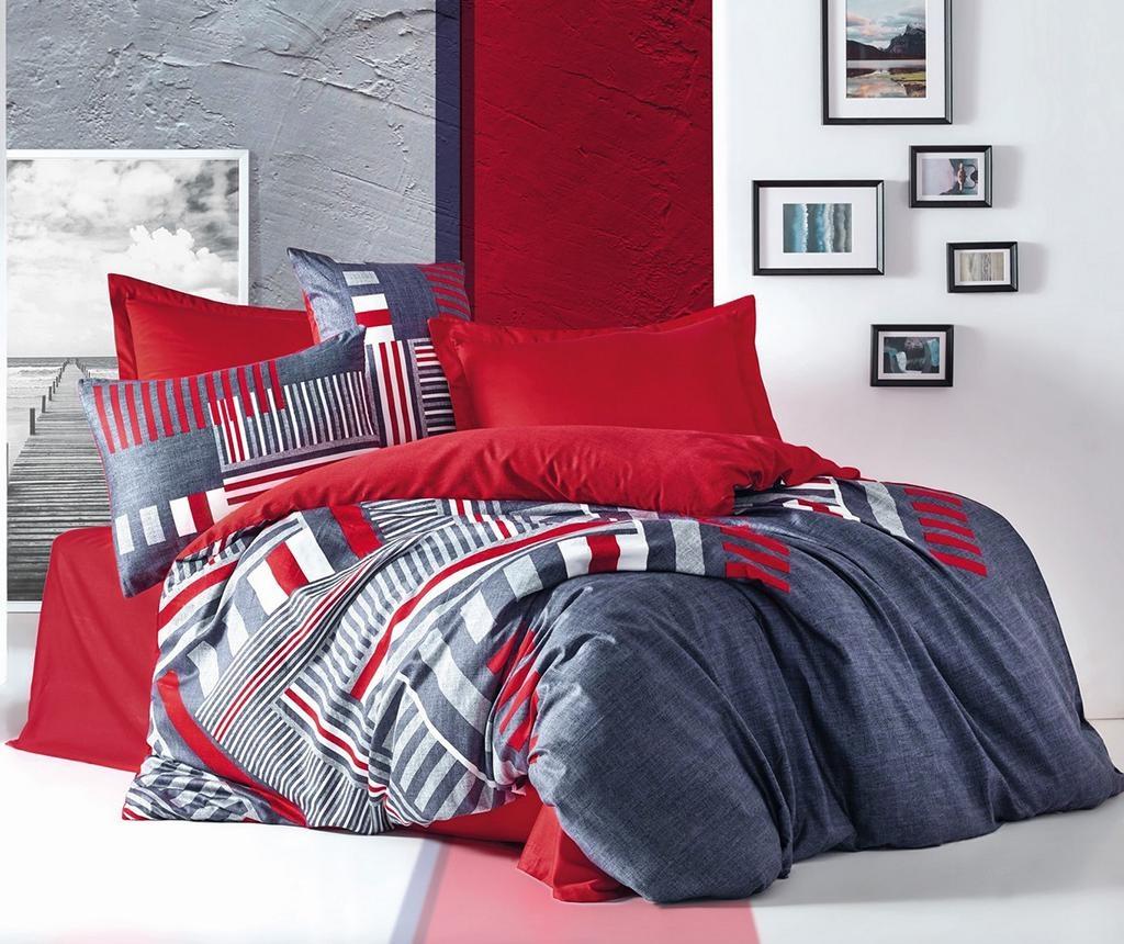 Ložní povlečení King Satin Supreme Roxy Red 200x220