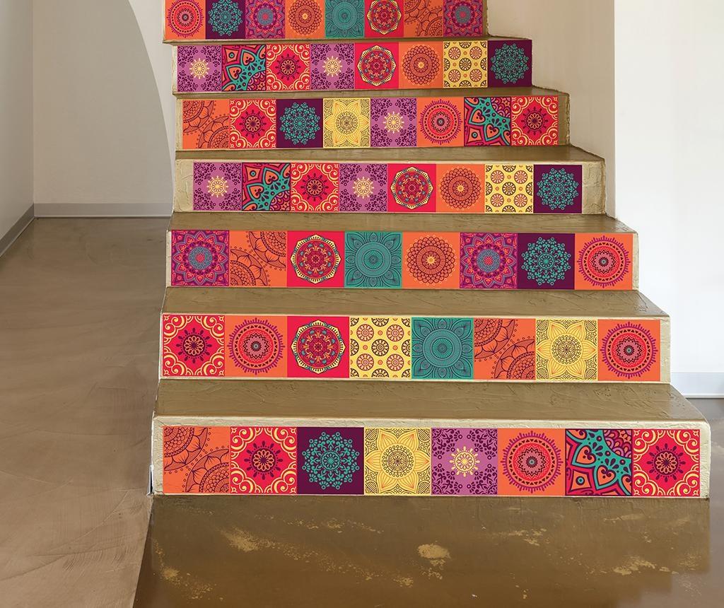 Set 24 naljepnica Mandala Colorful