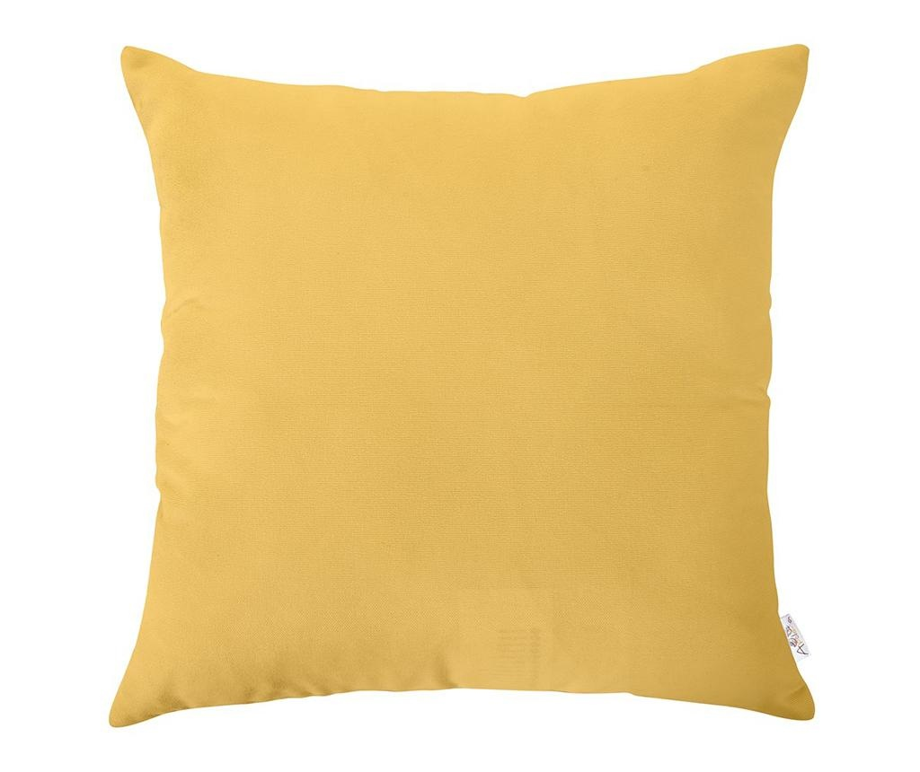 Fata de perna Bronx Yellow 45x45 cm