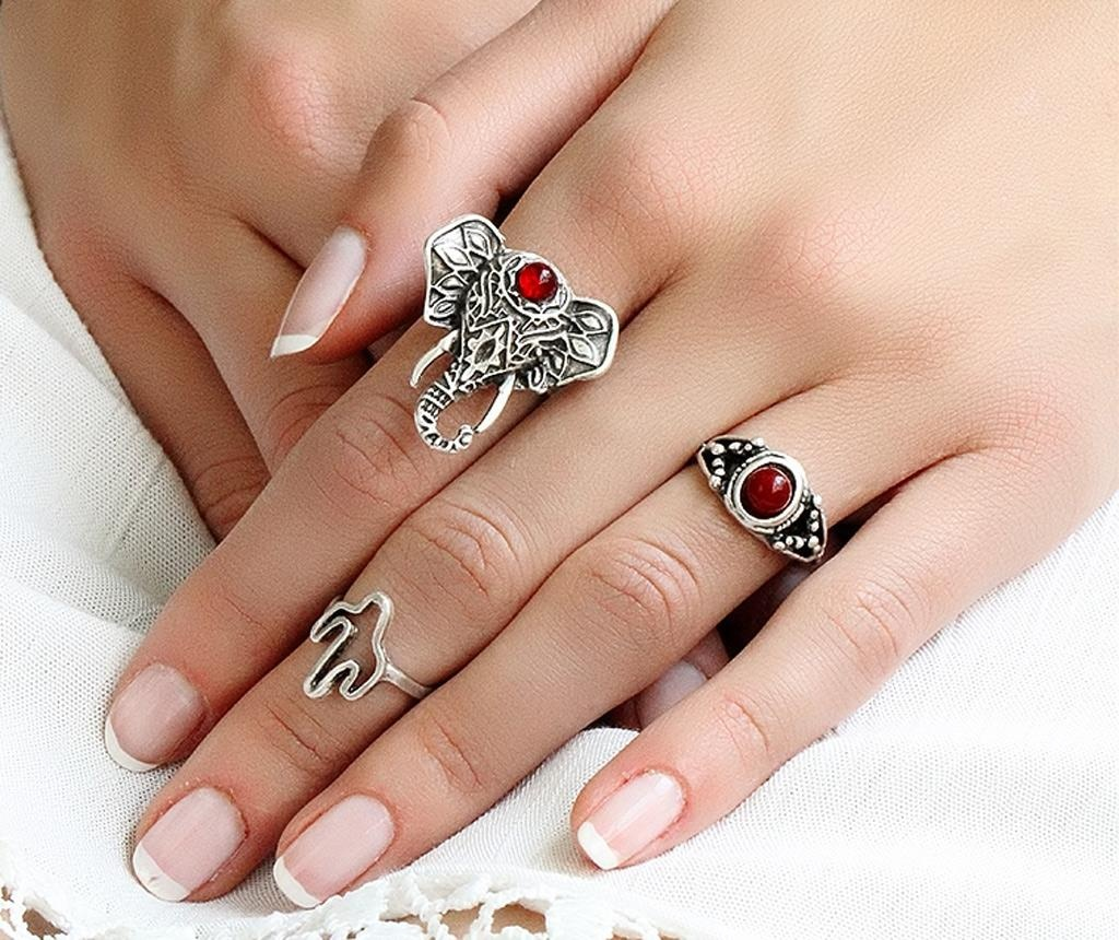 Комплект 3 пръстена Boheme Symbols