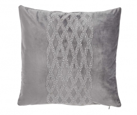 Poduszka dekoracyjna Glam Stone Pattern Grey 43x43 cm