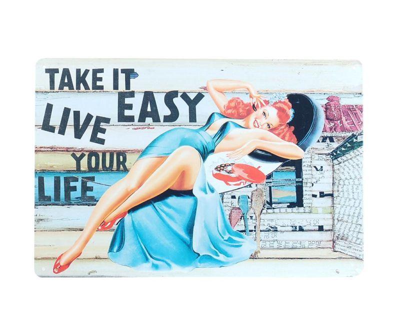 Stenska dekoracija Take It Easy