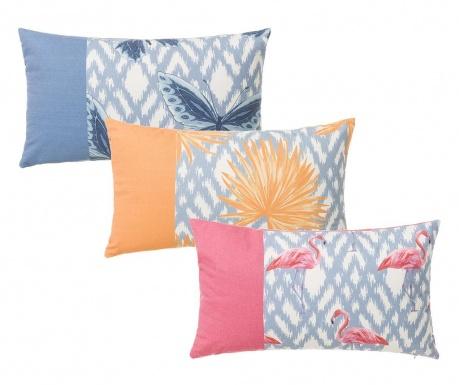 Σετ 3 διακοσμητικά μαξιλάρια Summer Pastel 30x50 cm