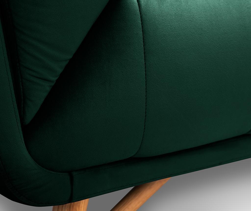 Canapea 3 locuri Etoile Bottle Green